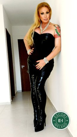 TS Brigitte Von Bombom is a very popular Italian Domination in