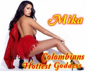 Mika is a hot and horny Colombian Escort from Ballsbridge